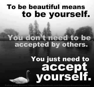 just accept yourself