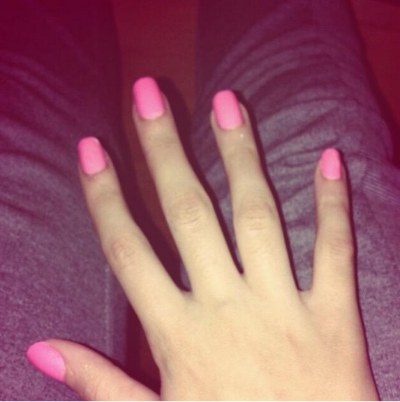 J'ai finiiiis mes ongles