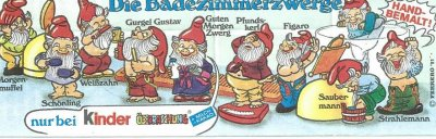 DIE BADEZIMMERZWERGE  1991 (Allemand)