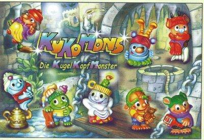 KUKOMONS - DIE KUGEL KOPF MONSTER 2000 (Allemand)