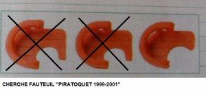 LES PIRATOQUETS - LOS PAPPAGALOS   2001 (France - Italie)