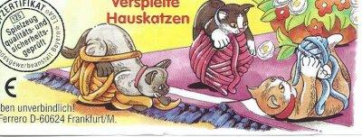 VERSPIELTE HAUSKATZEN  2001  (ALLEMAND)