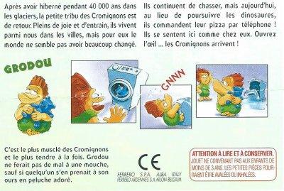 LES CROMIGNONS  2003 (France)/ DIE ÖTZIS KOMMEN! (Allemagne-EU)
