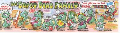 DIE DAPSY DINO FAMILY 1997 (Allemand)