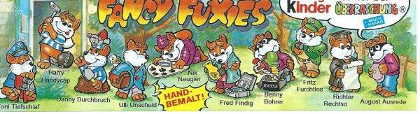 FANCY FUXIES 1998 (Allemand)