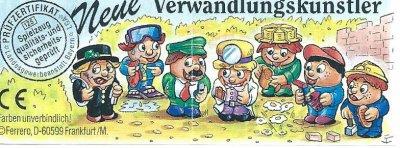 NEUE VERWANDLUNGSKÜNSTLER 1998 (Europe)
