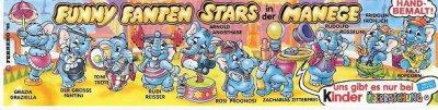 FUNNY FANTEN STARS IN DER MANEGE 1998 (Allemand)