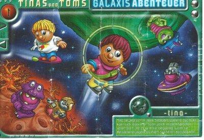 TINAS UND TOMS GALAXIS ABSENTEUR 2001 (Allemand)