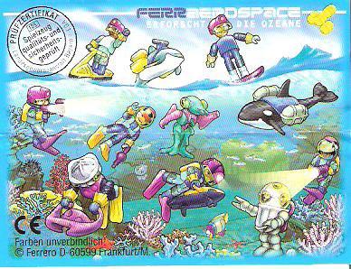 FERRAEROSPACE ERFORSCHT DIE OZEANE  1998 (Allemand)