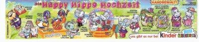 DIE HAPPY HIPPO HOCHZEIT 1999 (Allemand)