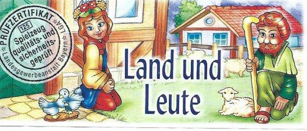 LAND UND LEUTE 2001 (Allemand)