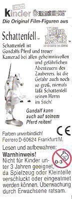 HERR DER RINGE III - DIE RÜCKKEHR DES KÖNIGS 2003 (Allemand)