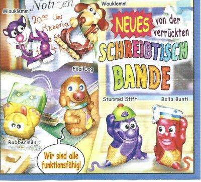 2003  NEUES VON DER  VERRÜCKTE SCHREIBTISCH-BANDE (Allemand)