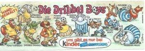DRIBBEL BOYS -  Walt Disney 1990 (Allemagne)