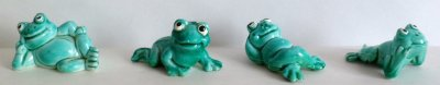 1986  JOYEUSES GRENOUILLES / HAPPY FROGS (Allemand)