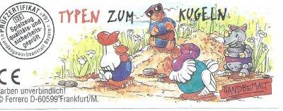 TYPEN ZUM  KUGELN 1996  (Allemand)