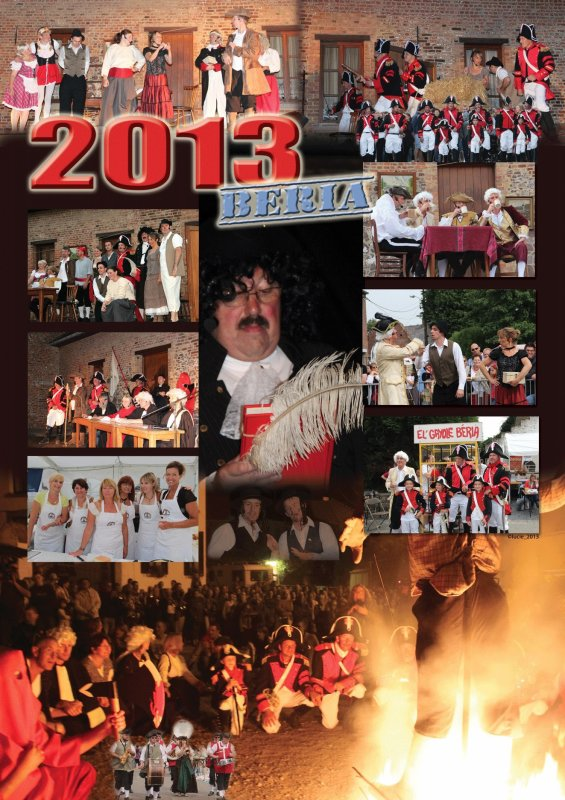 Poster de la fête à Beria 2013 de Lucie Z