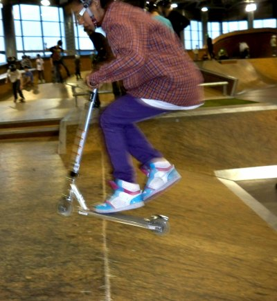 Moi au skate park :)