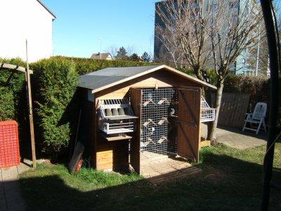 Mon pigeonnier est un abri de jardin il habrite 50 pigeons qui se portent bien blog de - Un abri de jardin est il imposable ...