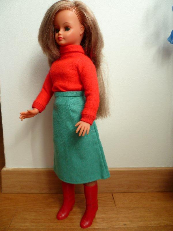 Cathie Tenue Valençay 1977