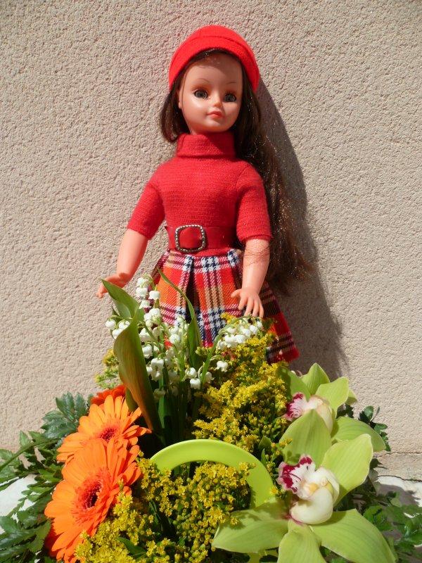 Cathie en Tenue Muguet 73 vous souhaite un bon 1er mai!