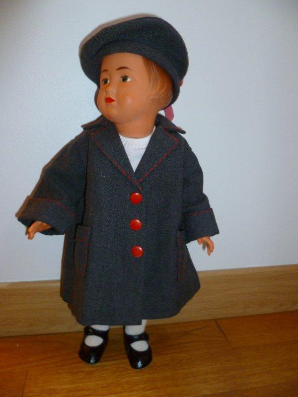 Ma Françoise a revêtu ses habits d'hiver