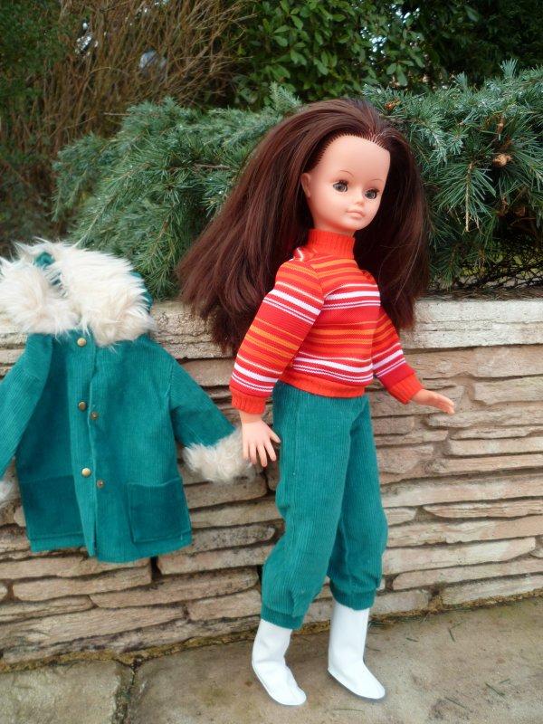Cathie en tenue Frimas,pour Mamour et Mimie Blog ...mais pas que!