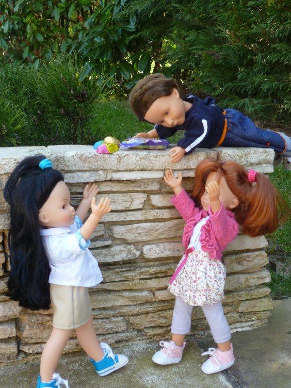 Les petites Chéries ont  adoré Pâques!