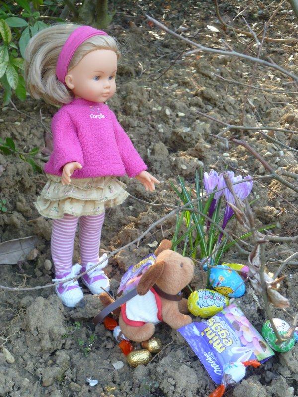 Les Chéries ont adoré Pâques,suite!
