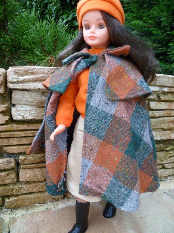 Cathie,en Tenue Cortina,se prépare au froid annoncé..