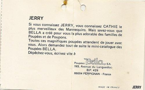 Des Souvenirs bien émouvants...Les Passeports de Cathie et Jerry....