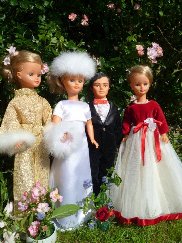 Cathie en Tenue de mariée 1973