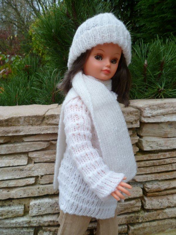 Fait froid aujourd'hui! Cathie,en Tenue Frimas 1979