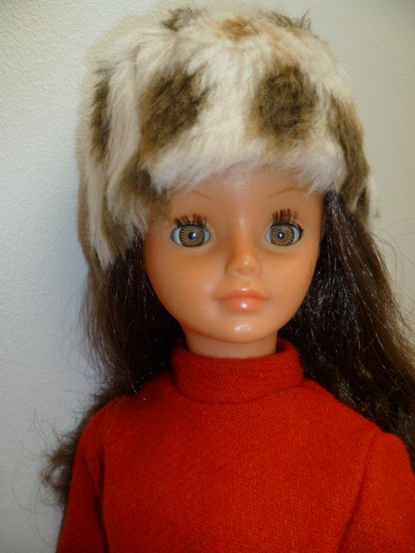 Cathie est restée au chaud,en Tenue Iris 73