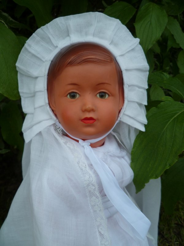 Et voici Françoise,qui fait sa Communion..