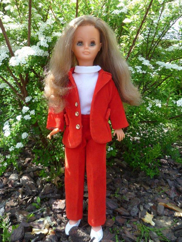 Cathie en tenue Beaucaire 1969