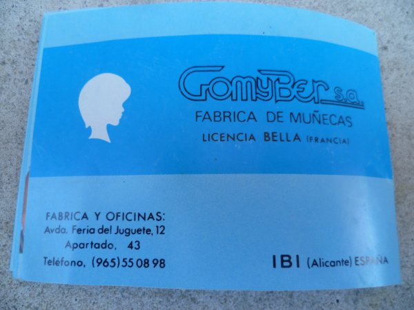 Le Catalogue de Cathie Espagnole....Suite et Fin