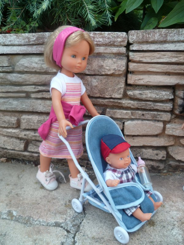 Camille et Candice ont décidé d'aller au parc..