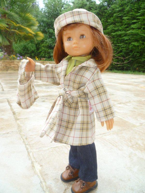 Coucou de Clara,sous la pluie!