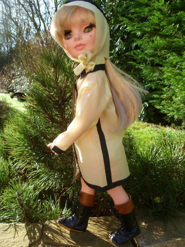 Simona des 4S Furga profite d'un petit rayon de soleil
