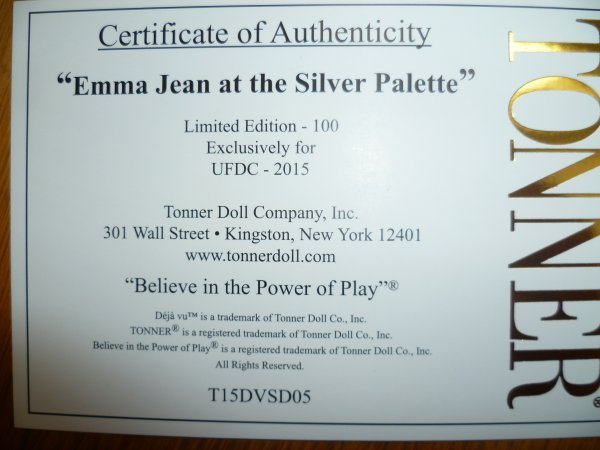 Emma Jean,Silver at the Palette
