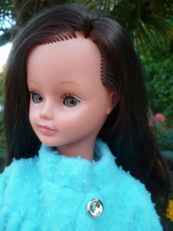 Notre poupée Cathie en Tenue Santiago