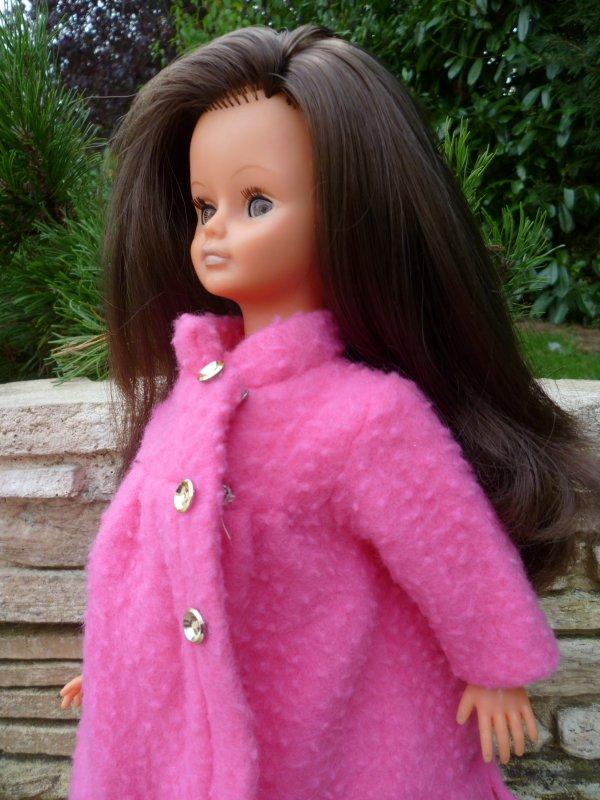 Cathie en Tenue Santiago 1969,rose.Pour mamour..mais pas que!