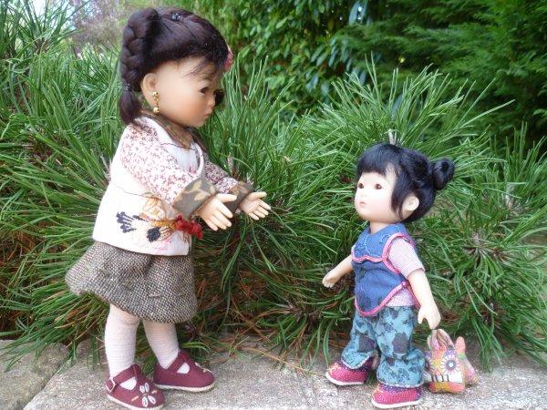 Ten Pin adore sa petite soeur Yu Ping...