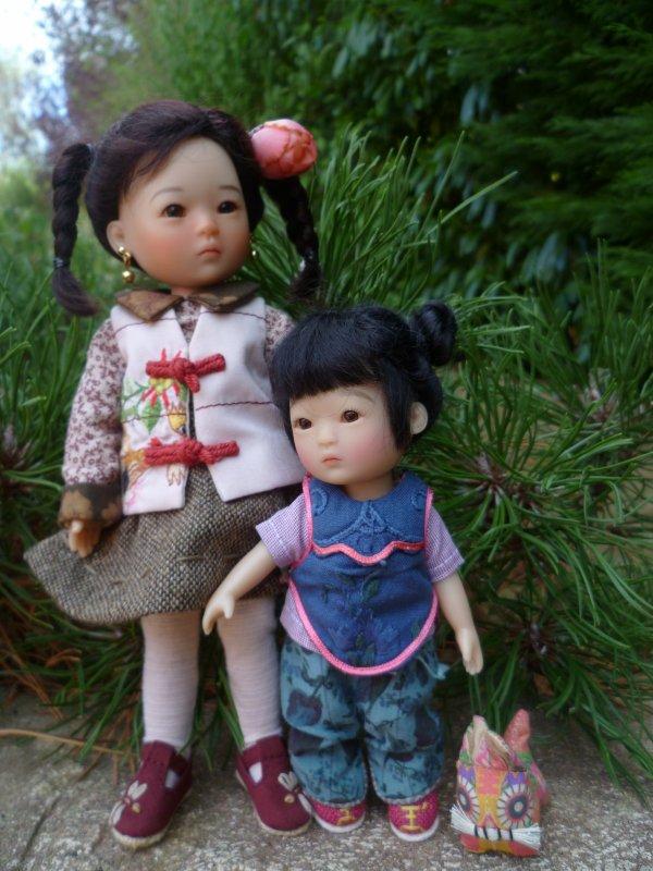 Ten Pin adore sa petite soeur Yu Ping...suite..