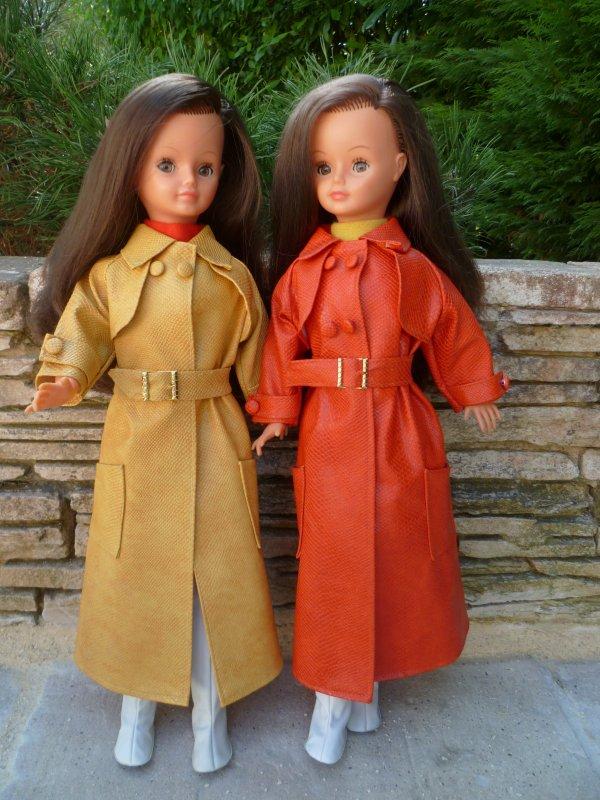 Cathie en tenue Emmanuelle:les Jumelles..