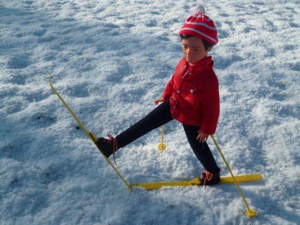 Pour CathieStyle..mais pas que! Jerry Tenue de ski 1972