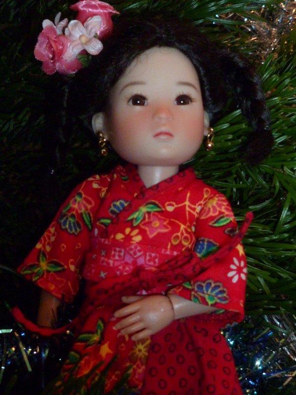 Ten Ping s'est fait belle pour vous souhaiter à tous un très bon Réveillon!