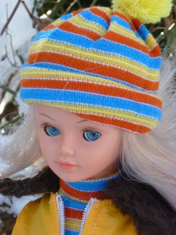 Cathie tenue Val d'Isère 1975