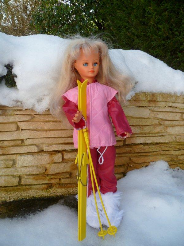 Cathie/Nathie Tenue de Ski 1983